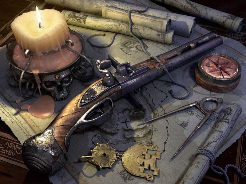 Arme de pirates